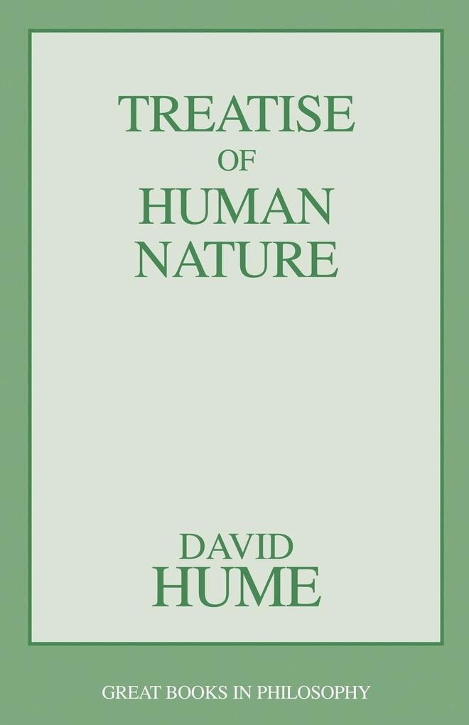 A Treatise of Human Nature als Taschenbuch