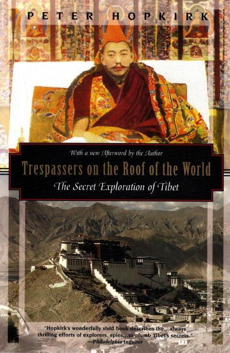 Trespassers on the Roof of the World: The Secret Exploration of Tibet als Taschenbuch