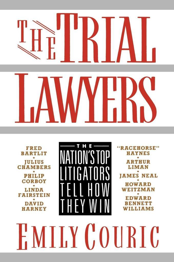 Trial Lawyers als Taschenbuch