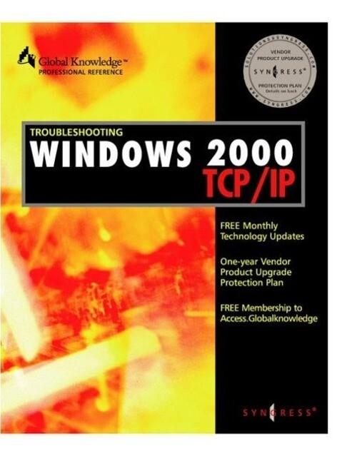 Troubleshooting Windows 2000 TCP/IP als Taschenbuch