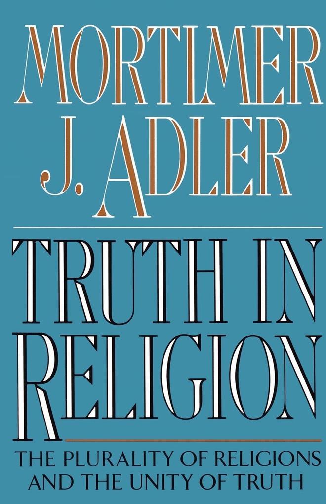 Truth in Religion als Taschenbuch