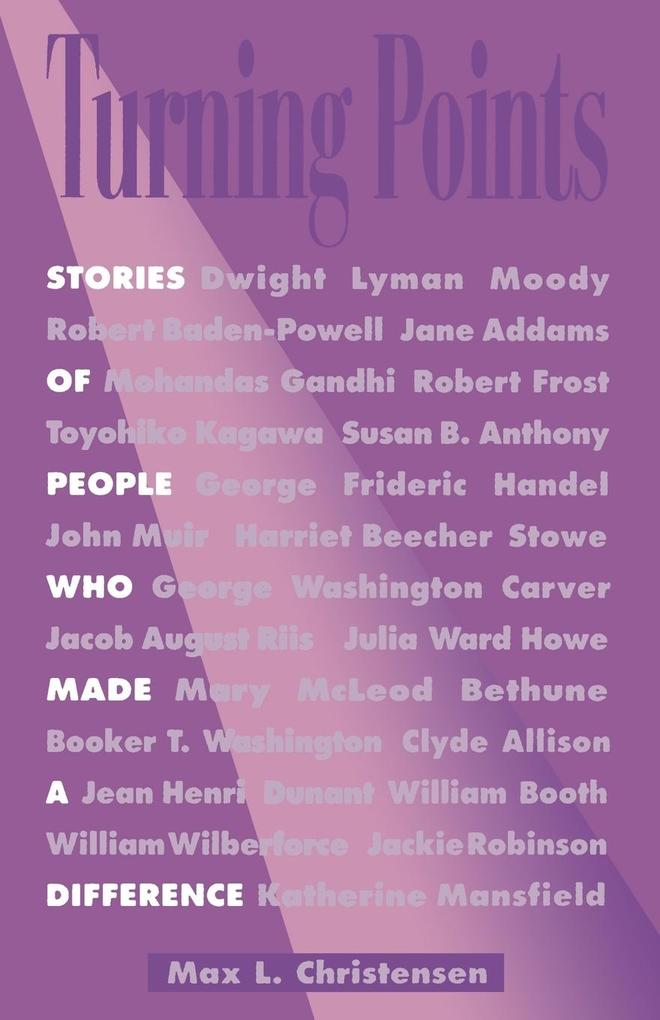 Turning Points: Stories of People Who Made a Difference als Taschenbuch