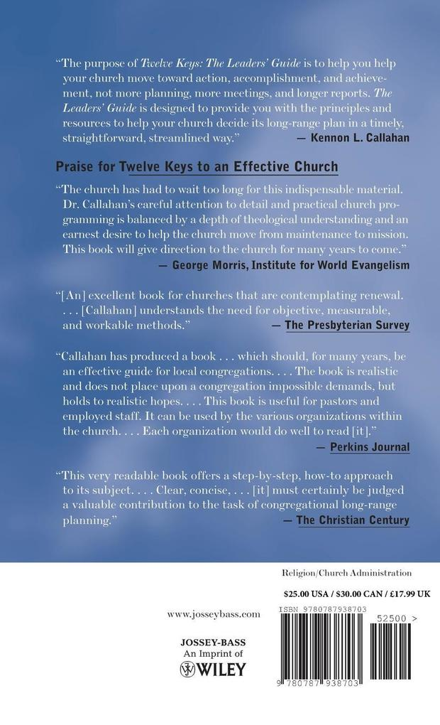 Twelve Keys Effective Church TM als Buch