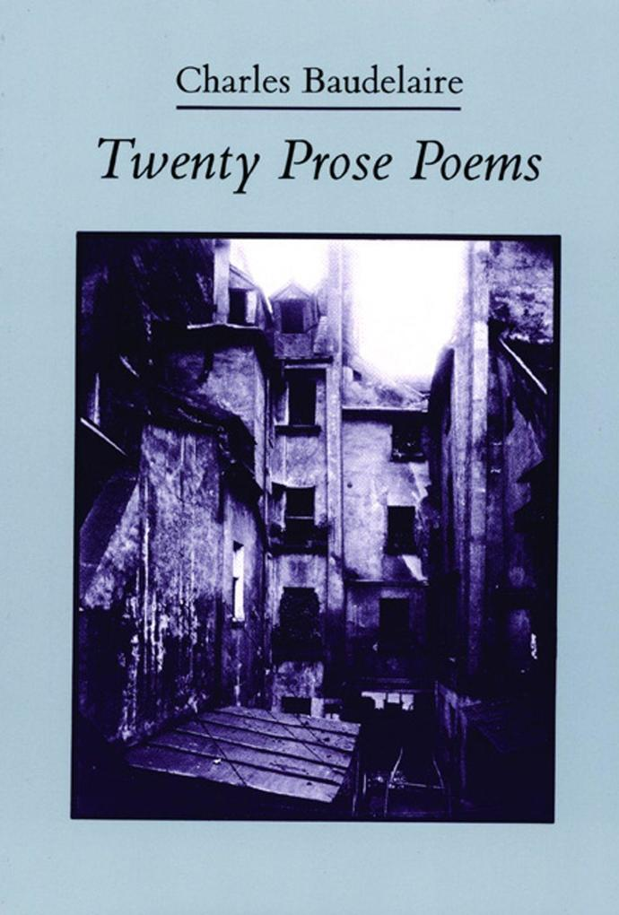 Twenty Prose Poems als Taschenbuch