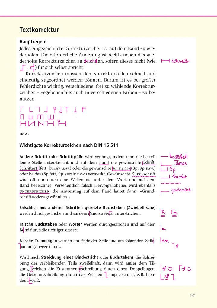 Duden - Korrekturzeichen als eBook von Dudenredaktion
