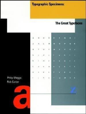 Typographic Specimens: The Great Typefaces als Taschenbuch