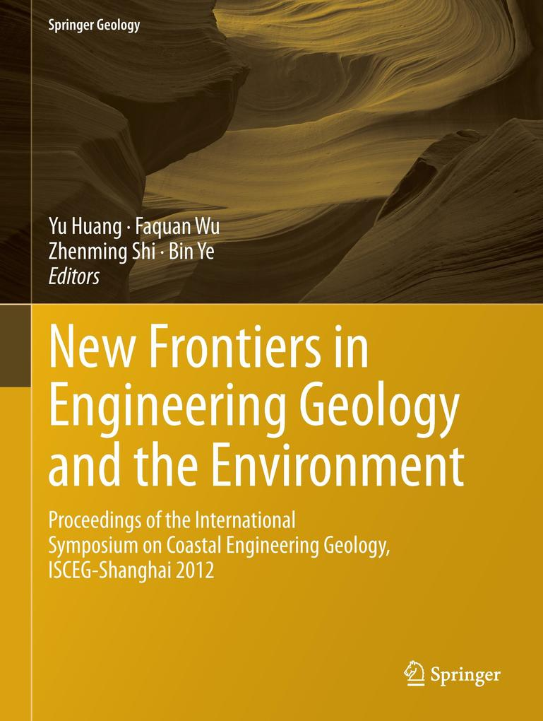 New Frontiers in Engineering Geology and the Environment als Buch von