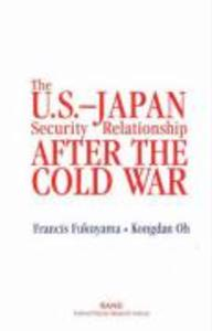 The U.S.-Japan Security Relationship After the Cold War als Taschenbuch