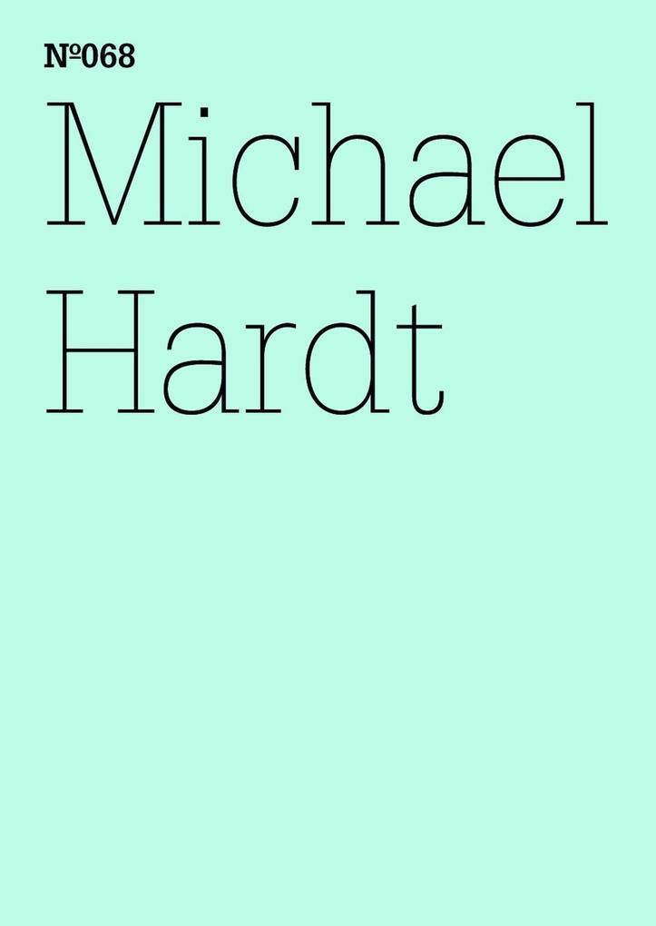 Michael Hardt als eBook epub