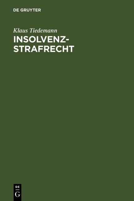 Insolvenz-Strafrecht als eBook pdf