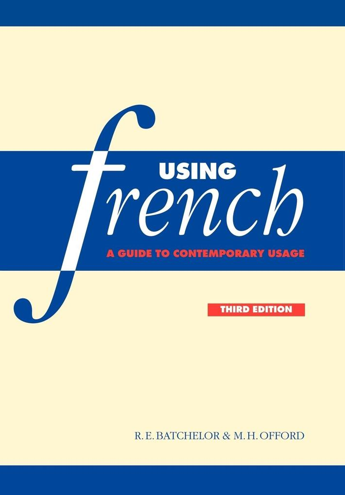 Using French als Buch