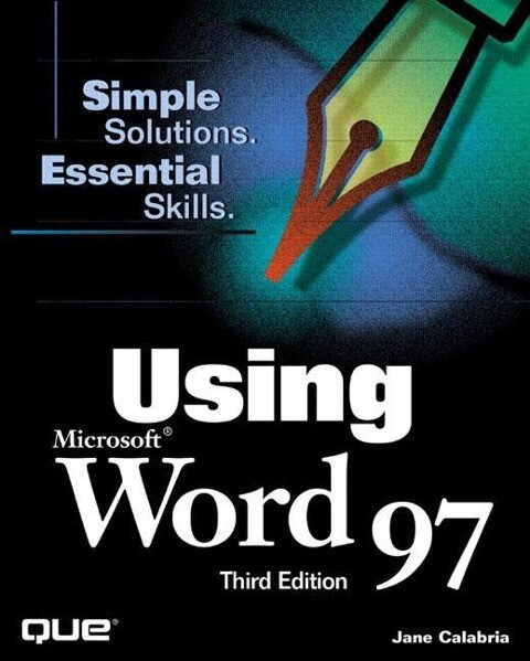 Using Microsoft Word 97 als Buch