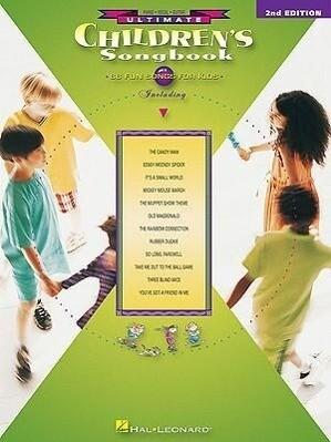 Ultimate Children's Songbook als Taschenbuch