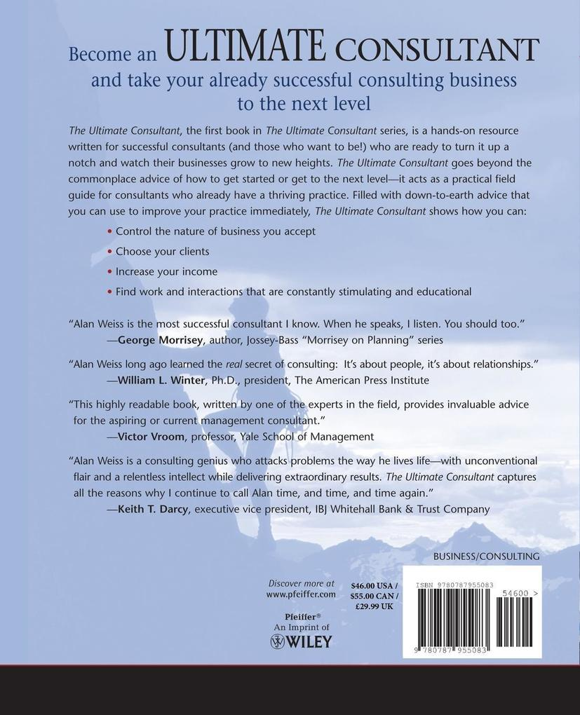 The Ultimate Consultant: Next Step Guide for the Successful Practitioner als Taschenbuch