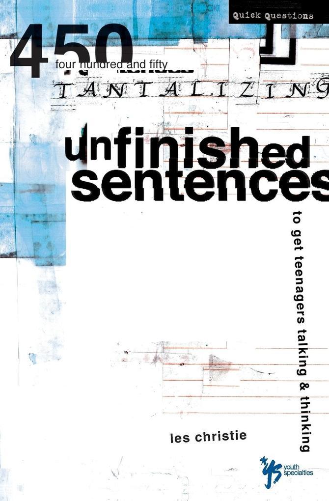 Unfinished Sentences als Taschenbuch