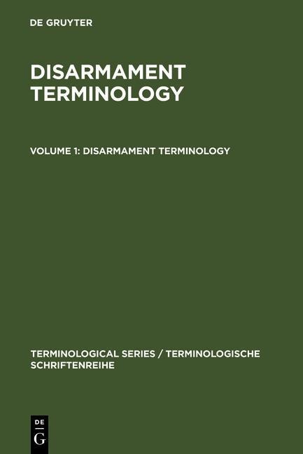 Disarmament Terminology 1