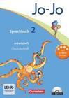 Jo-Jo Sprachbuch - Aktuelle allgemeine Ausgabe. 2. Schuljahr - Arbeitsheft in Grundschrift mit CD-ROM