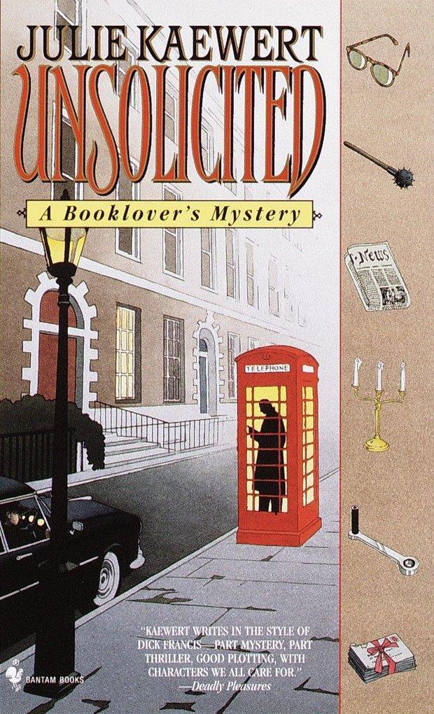 Unsolicited: A Booklover's Mystery als Taschenbuch