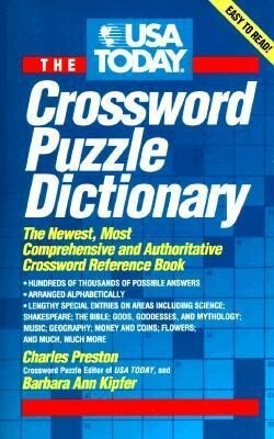USA Today Crossword Puzzle Dictionary: The Newest Most Authoritative Reference Book als Taschenbuch