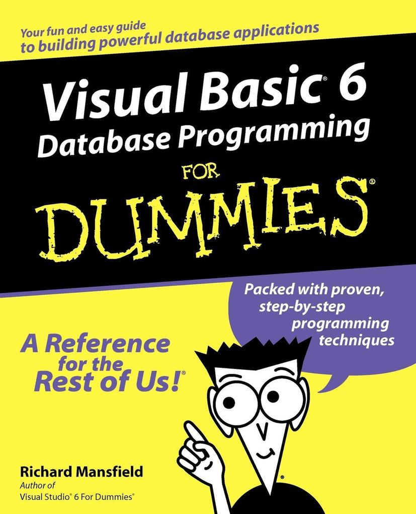 Visual Basic 6 Database Programming for Dummies als Buch