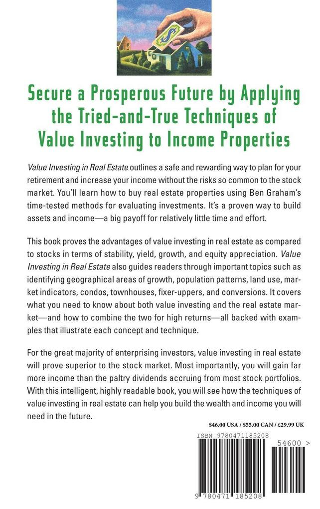 Value Investing in Real Estate als Buch