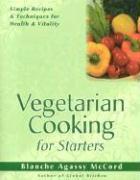 Vegetarian Cooking for Starters als Taschenbuch