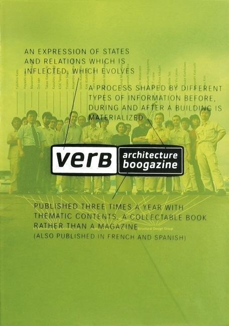Verb Processing: Architecture Boogazine als Taschenbuch