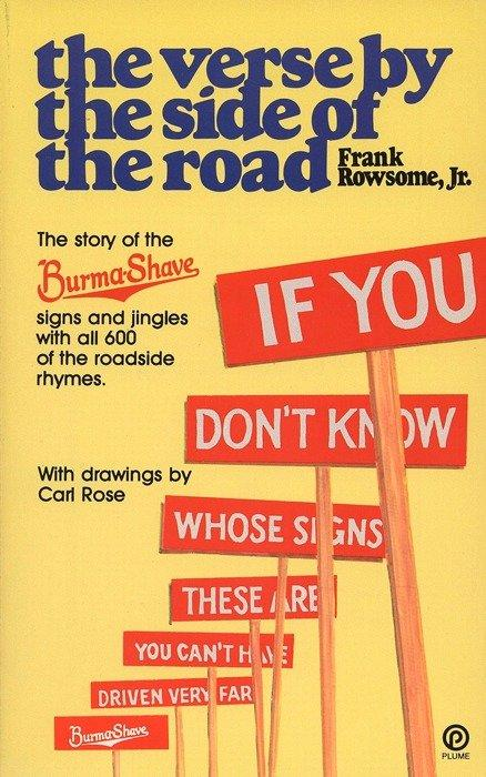 Verse by the Side of the Road: The Story of the Burma-Shave Signs and Jingles als Taschenbuch
