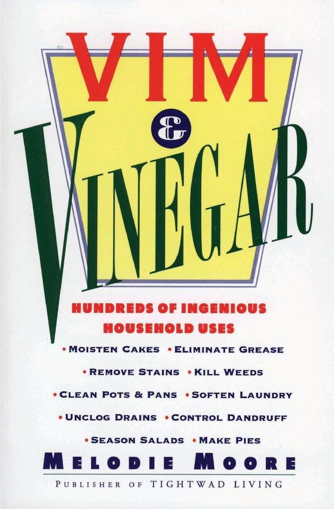 Vim & Vinegar als Taschenbuch