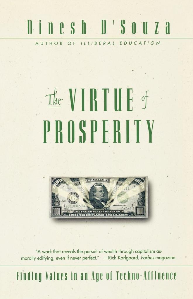 The Virtue of Prosperity als Taschenbuch