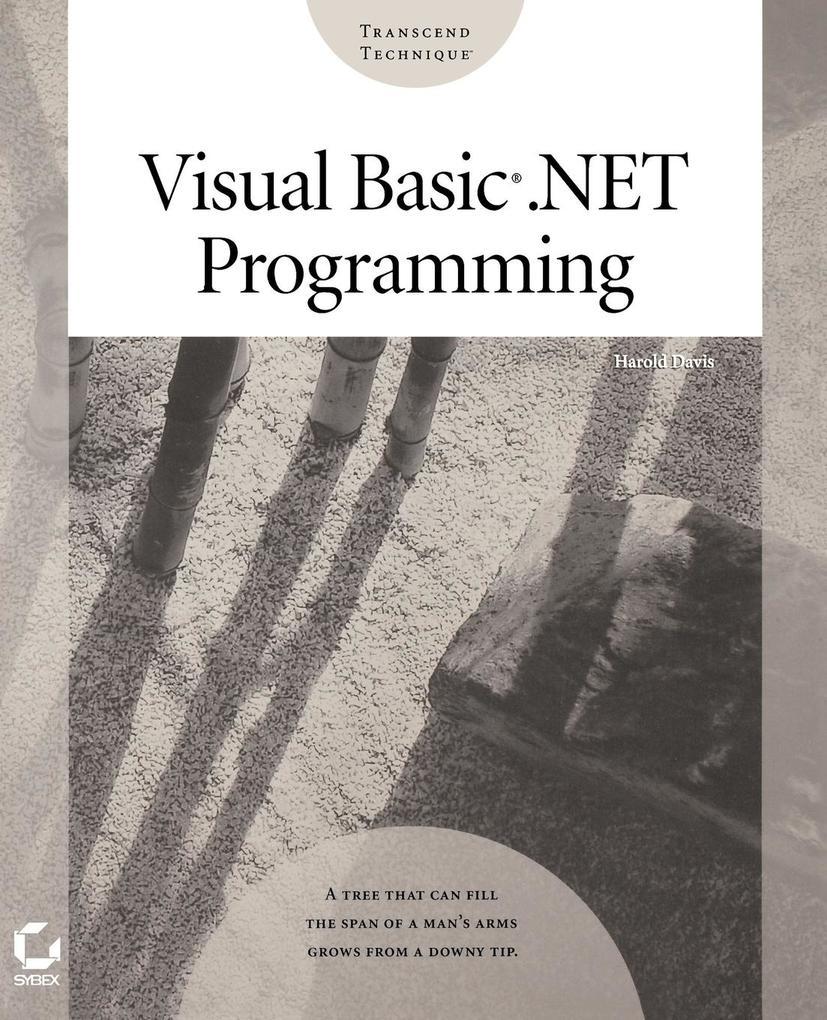 Visual Basic.Net Programming als Taschenbuch