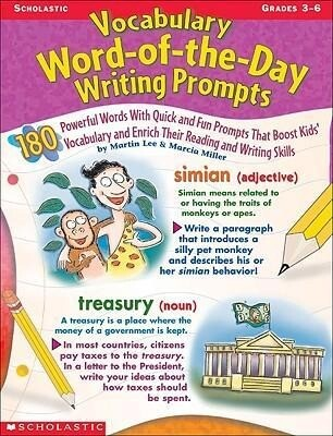 Vocabulary Word-Of-The-Day Writing Prompts als Taschenbuch