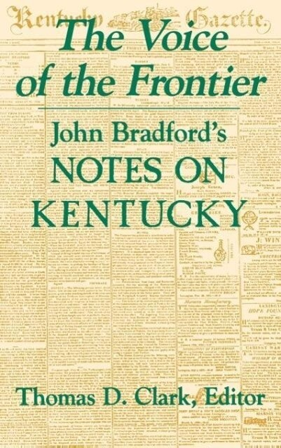 The Voice of the Frontier als Buch