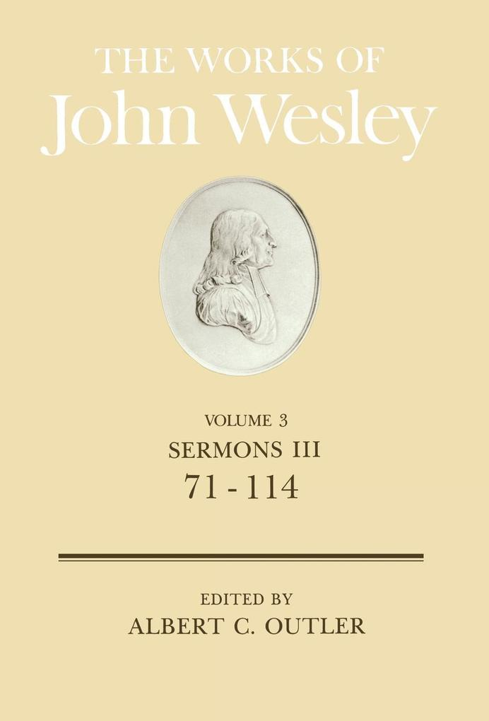 The Works of John Wesley Volume 3 als Buch