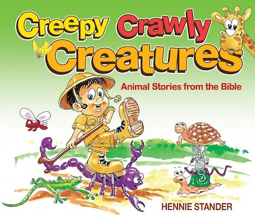 Creepy Crawly Creatures als eBook von Hennie Stander