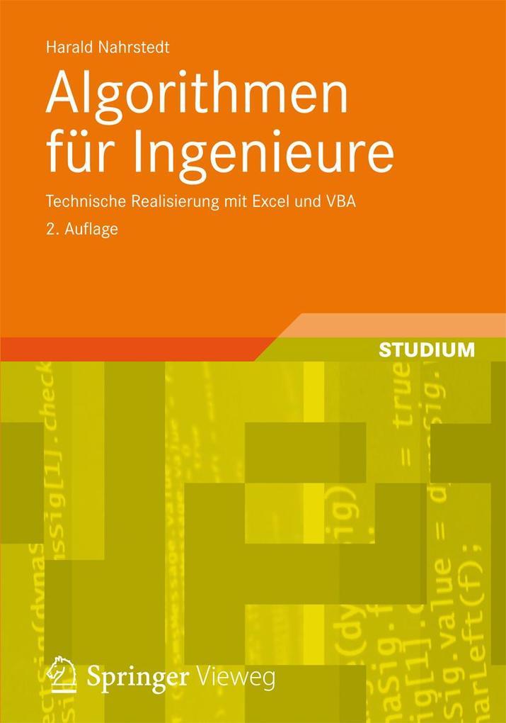 Algorithmen für Ingenieure als eBook von Harald...
