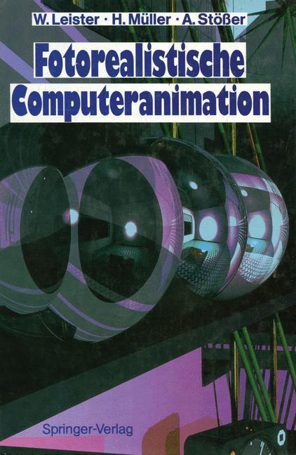 Fotorealistische Computeranimation als Buch (gebunden)