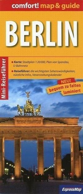 Berlin map & guide als Buch