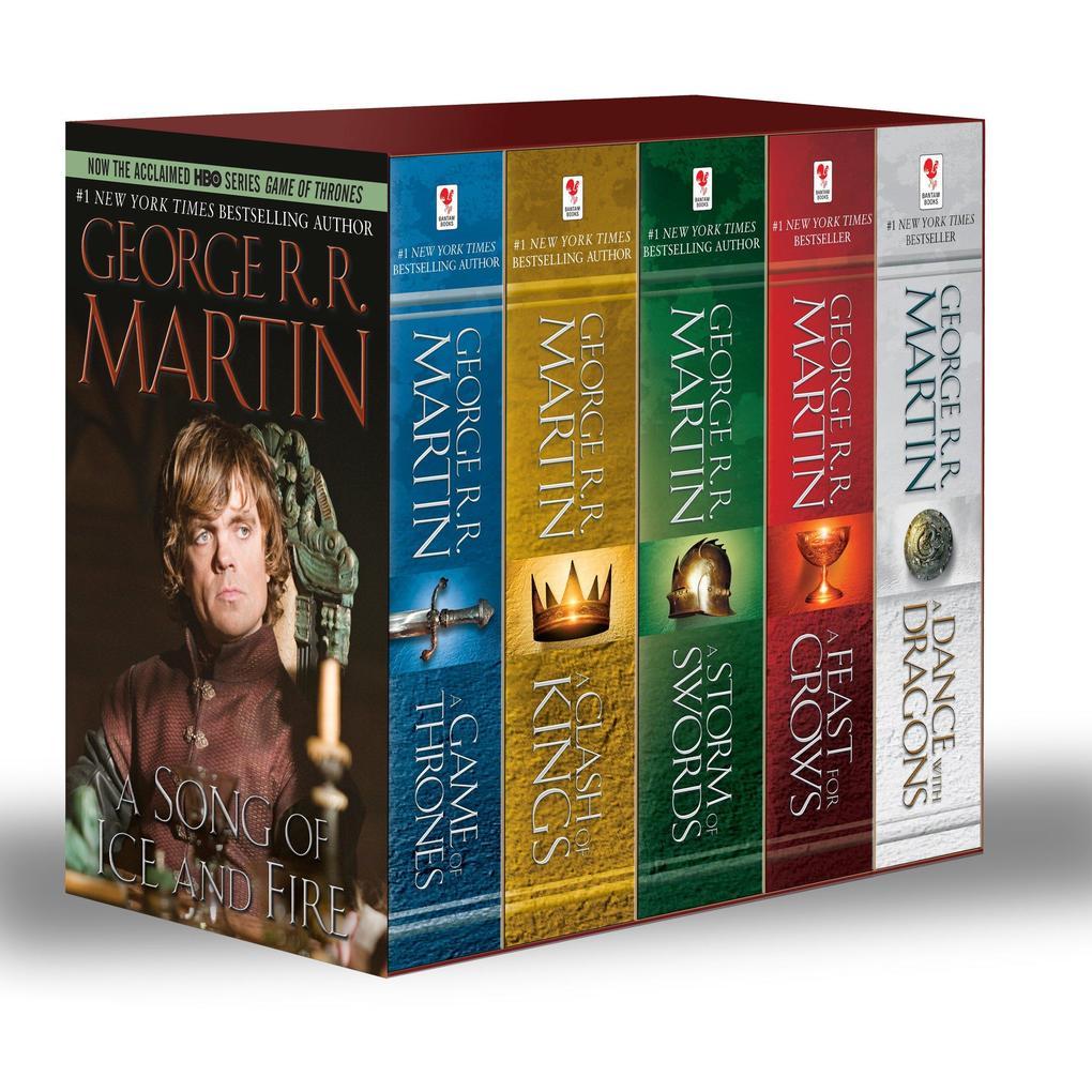 A Game of Thrones 1-5 Boxed Set. TV Tie-In als Taschenbuch von George R. R. Martin