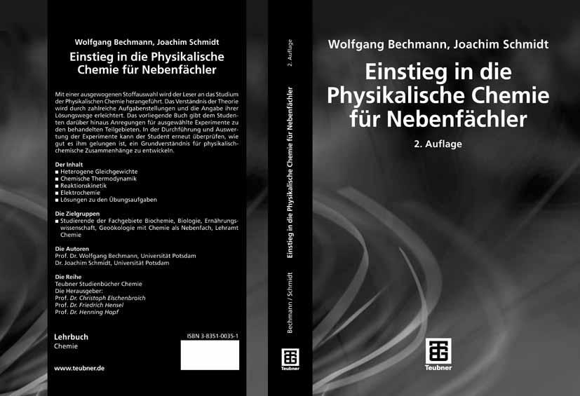 Einstieg in die Physikalische Chemie für Nebenfächler als eBook