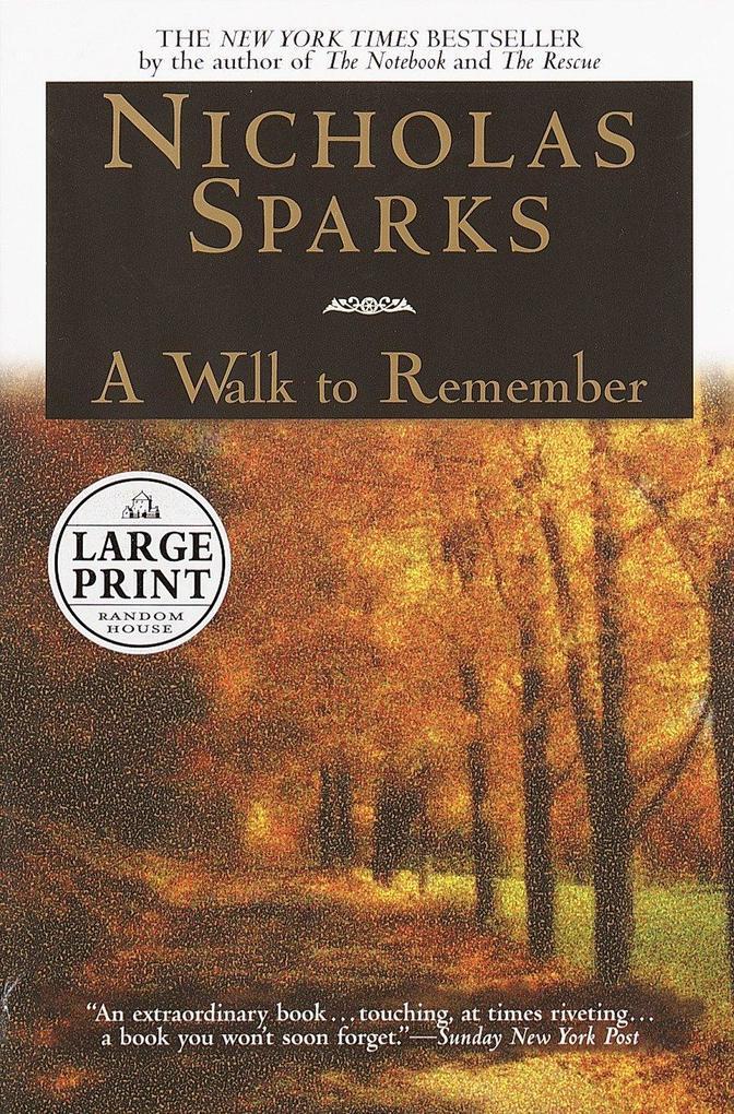 A Walk to Remember als Taschenbuch