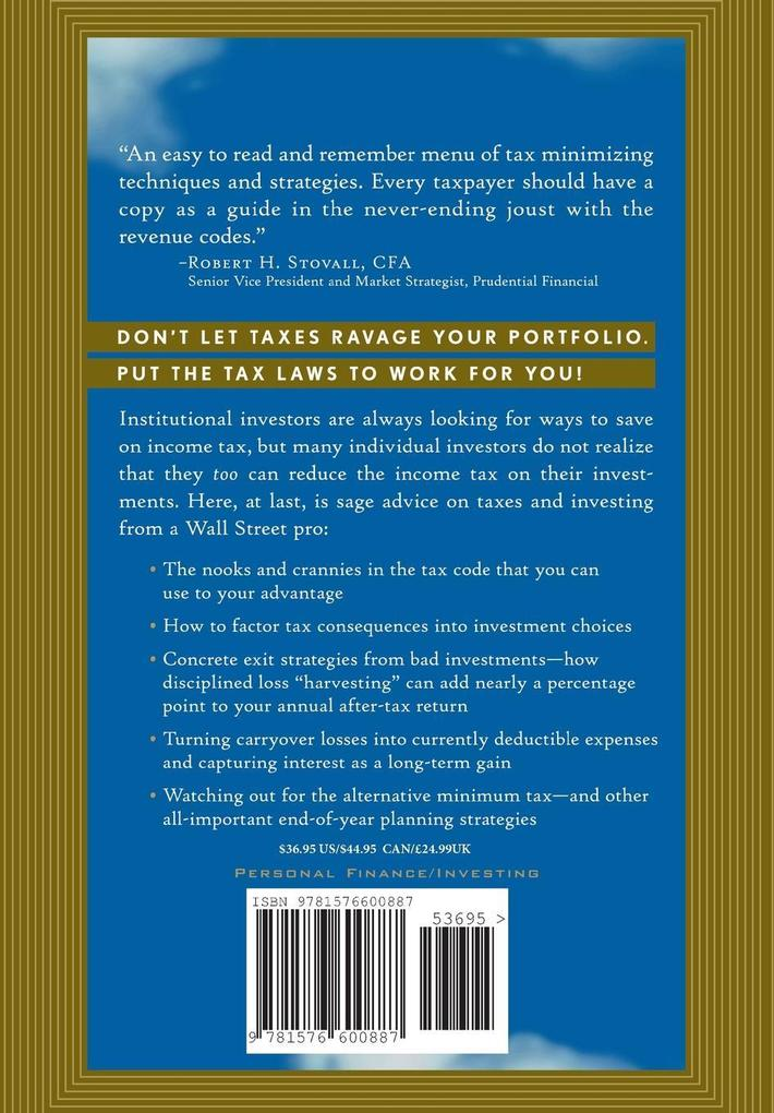 Wall Street Secrets for Tax-Efficient Investing: From Tax Pain to Investment Gain als Buch