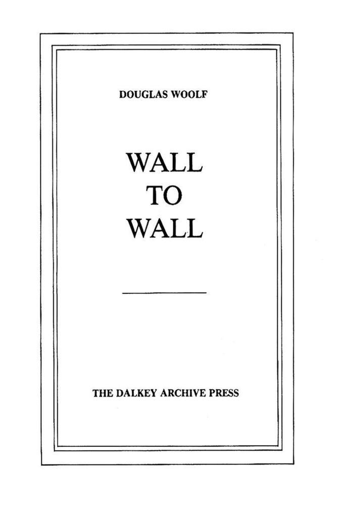 Wall to Wall als Taschenbuch