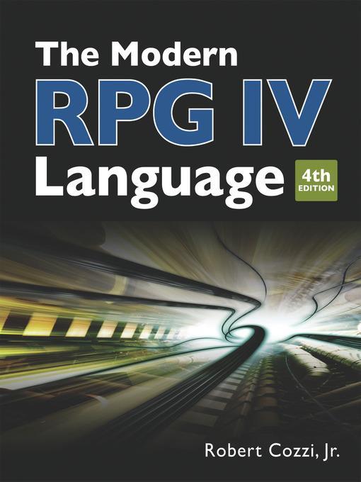 The Modern RPG IV Language als eBook von Robert...