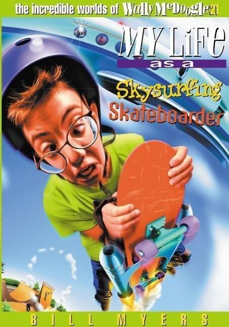 Sky Surfing Skateboarder als Taschenbuch