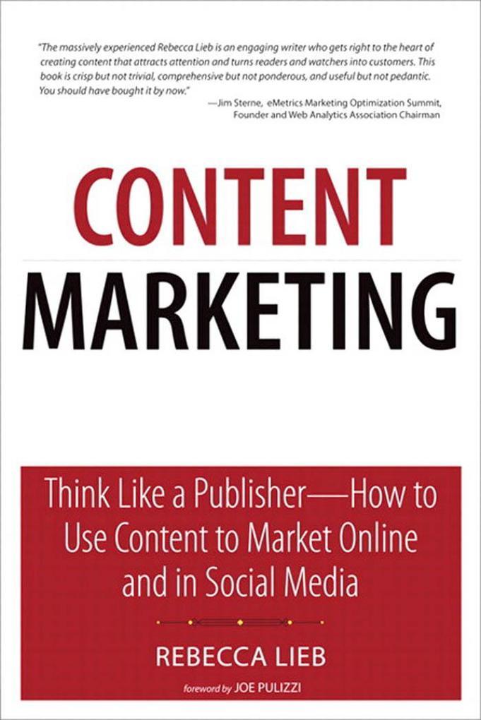 Content Marketing als eBook von Rebecca Lieb