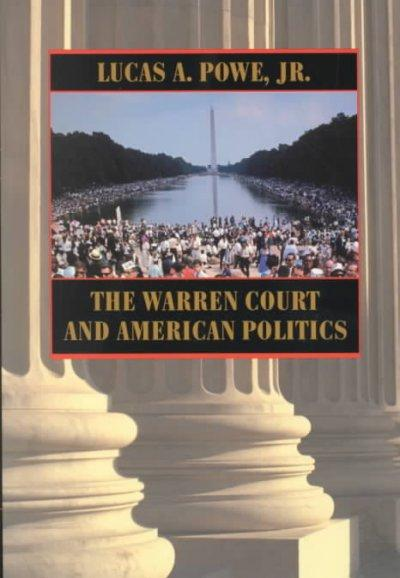 The Warren Court and American Politics als Taschenbuch