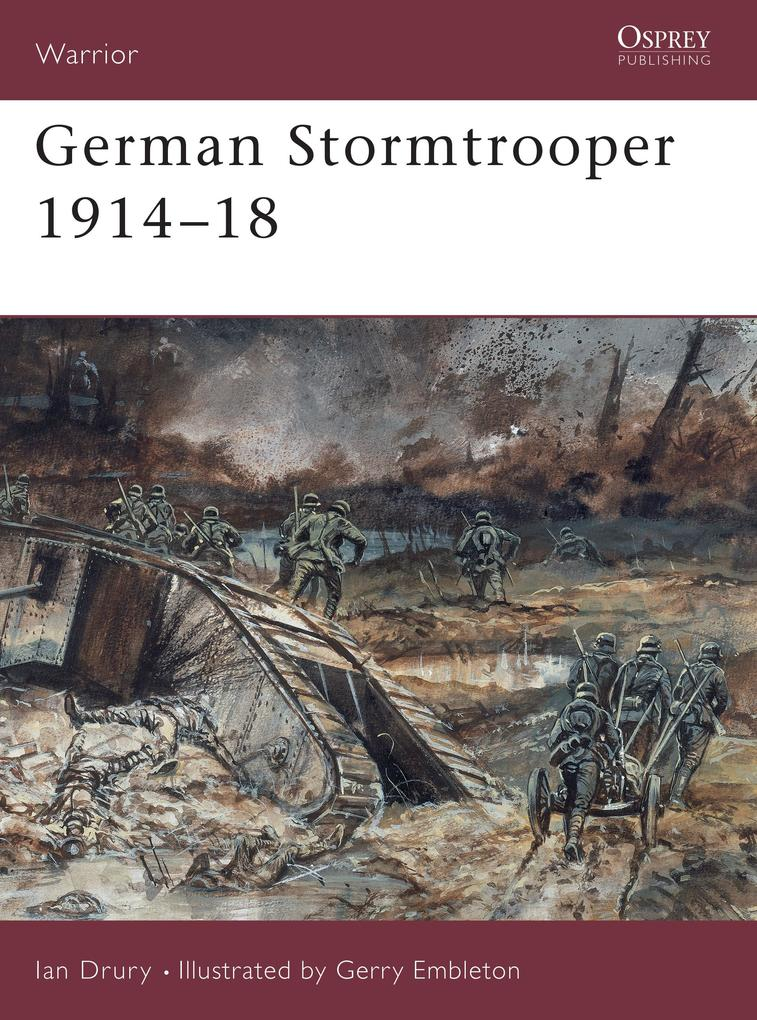 German Stormtrooper, 1915-18 als Taschenbuch