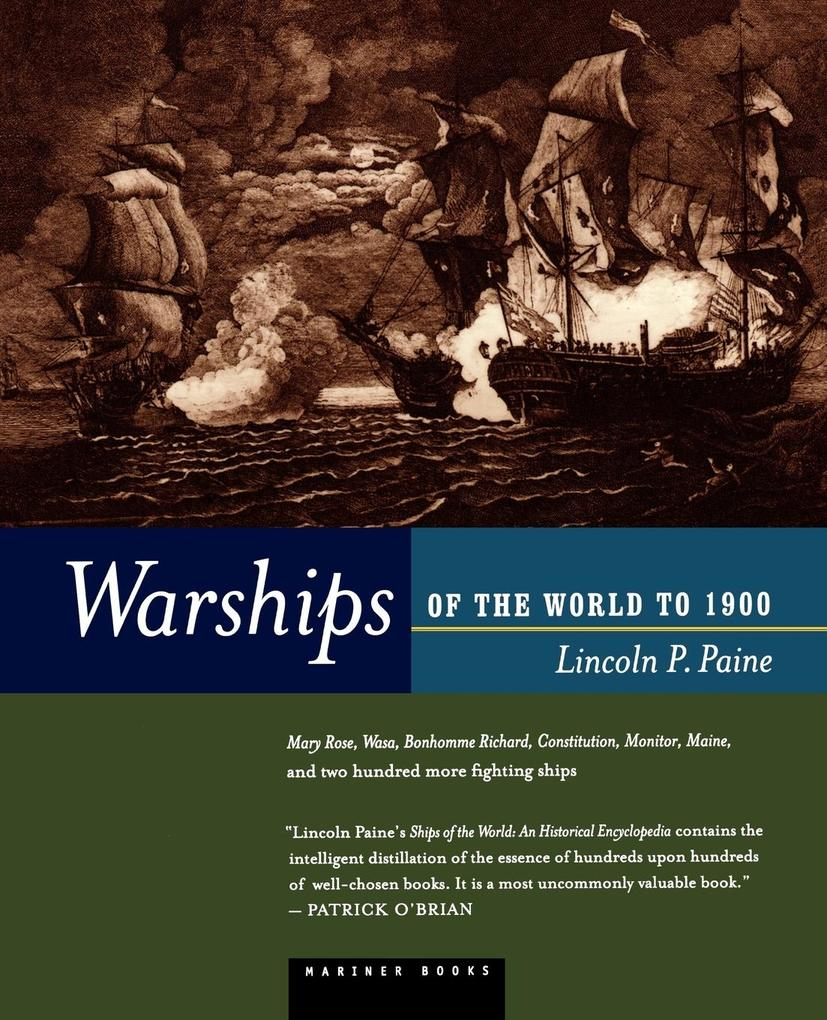Warships of the World to 1900 als Taschenbuch