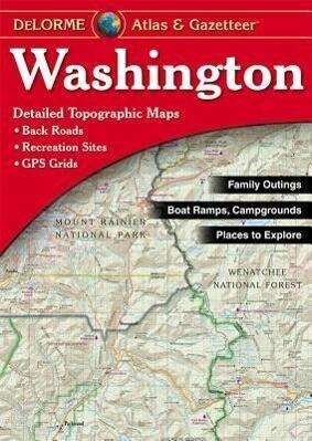 Washington - Delorme5t -OS als Taschenbuch
